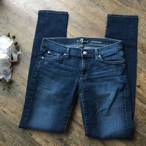 7 for all mankind Roxanne skinny jeans 29